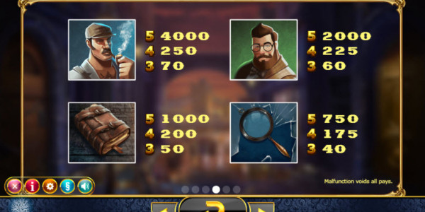 Holmes & the Stolen Stones Video Slots by Yggdrasil Gaming MCPcom pay2