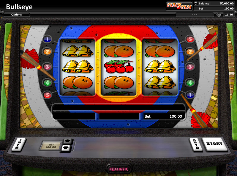 Bullseye - Классический слот от Realistic Games MCPcom