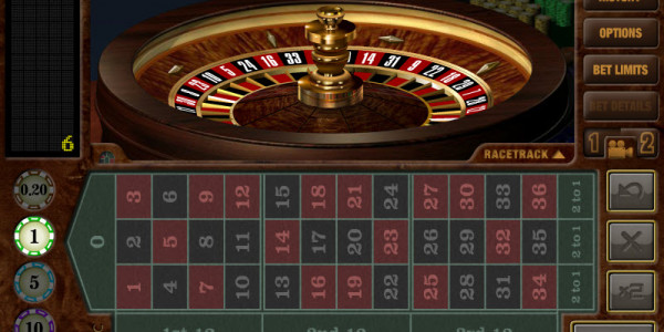 European Roulette Table game by Realistic Games MCPcom