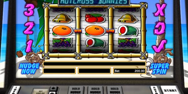 Hot Cross Bunnies — Классический слот от Realistic Games MCPcom