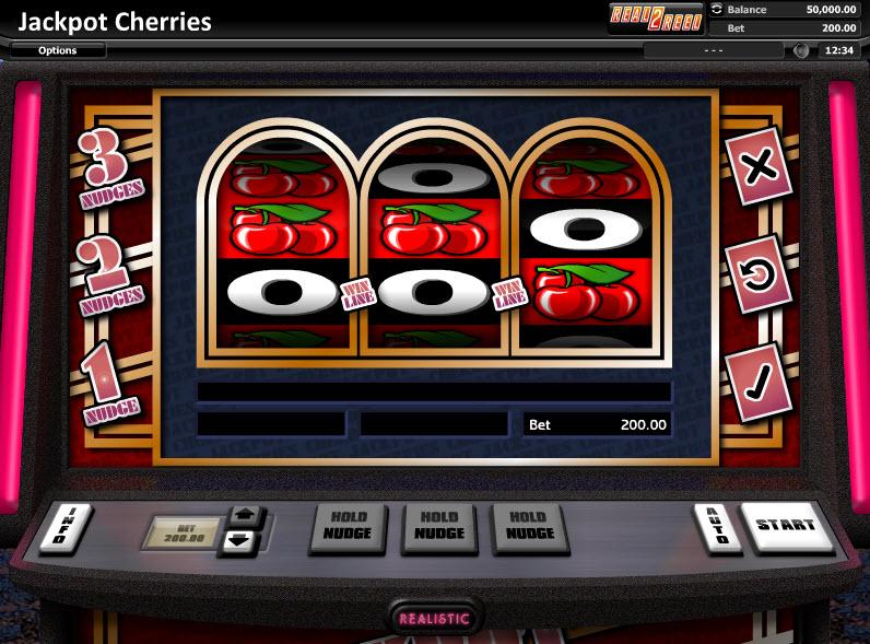 Jackpot Cherries - Классический слот от Realistic Games MCPcom