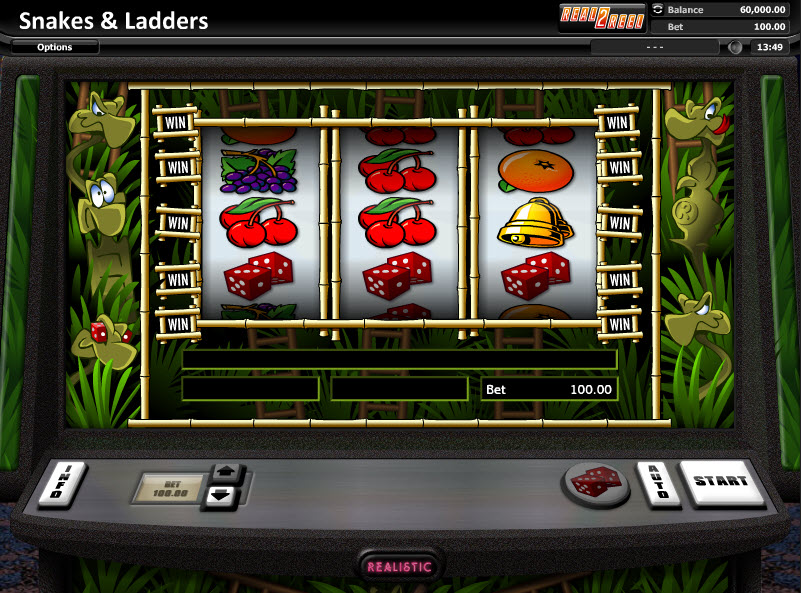 Snakes and Ladders - Классический слот от Realistic Games MCPcom