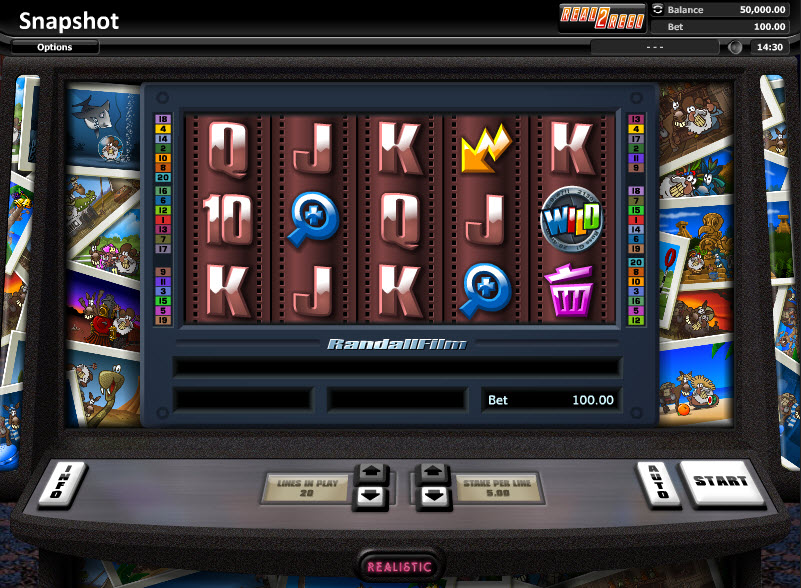 Snapshot Video Slots by Realistic Games MCPcom