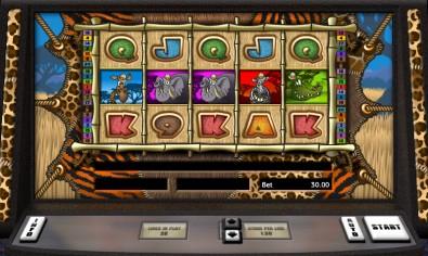 Go Wild on Safari Video Slots by Realistic Games MCPcom