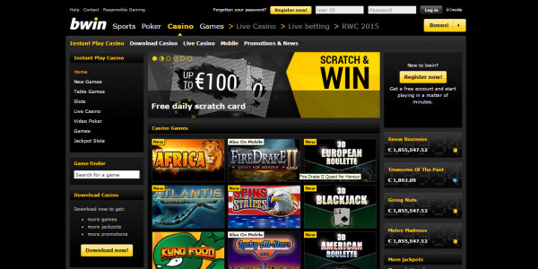Bwin Casino MCPcom