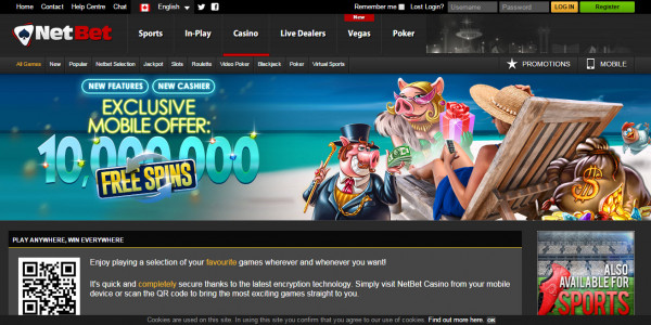 NetBet Casino MCPcom 5