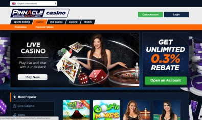 Pinnacle Sports Casino MCPcom