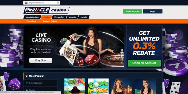 Pinnacle Sports Casino MCPcom
