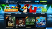 Admiral Casino Club Main Page