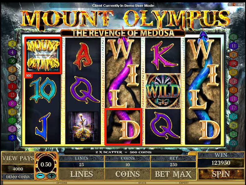 Mount Olympus MCPcom Microgaming
