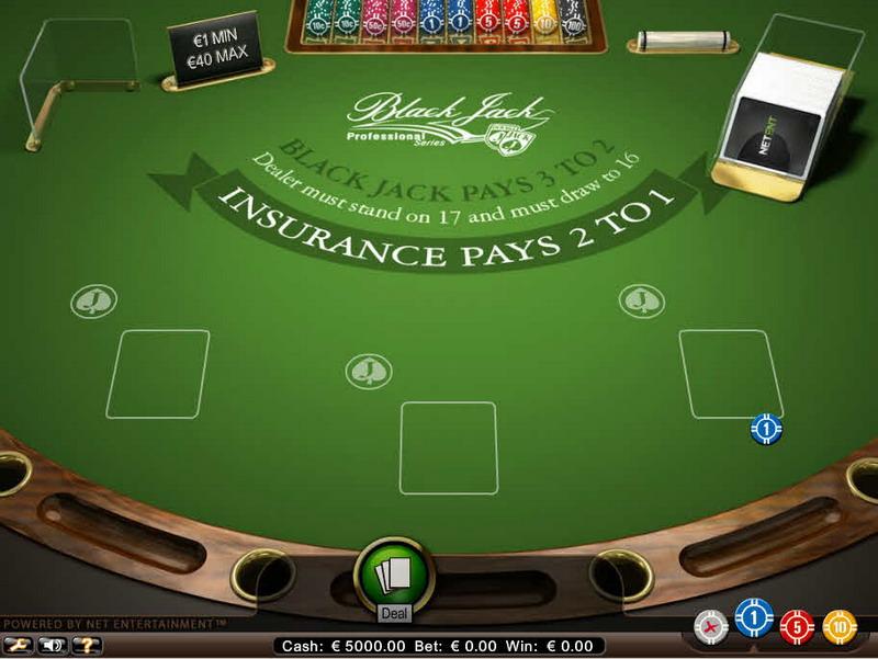 Blackjack Professional Series MCPcom NetEnt