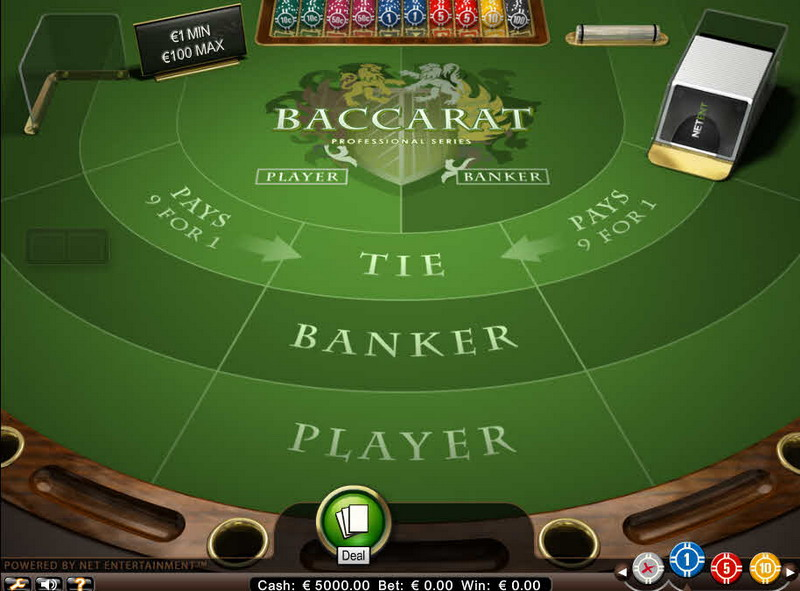 Baccarat Pro Series MCPcom NetEnt