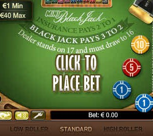 Mini Blackjack MCPcom NetEnt