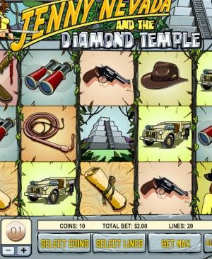 Jenny Nevada and the Diamond Temple MCPcom Rival