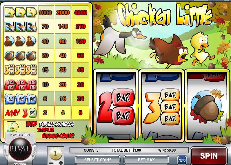 Chicken Little MCPcom Rival