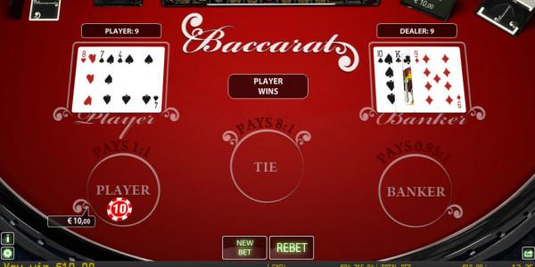 Baccarat Privee mcp wm Win