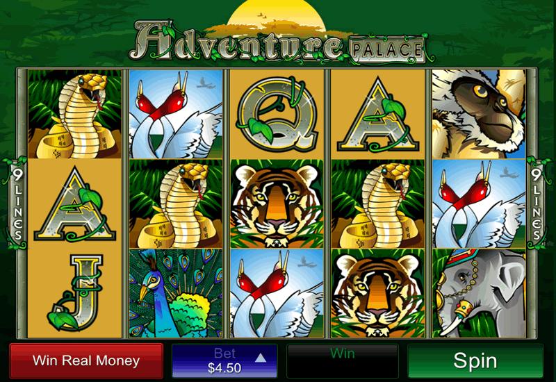 Adventure Palace Slot mcp