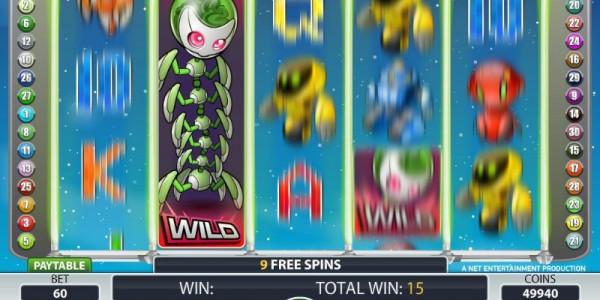 Alien robots screenshot wild expanded