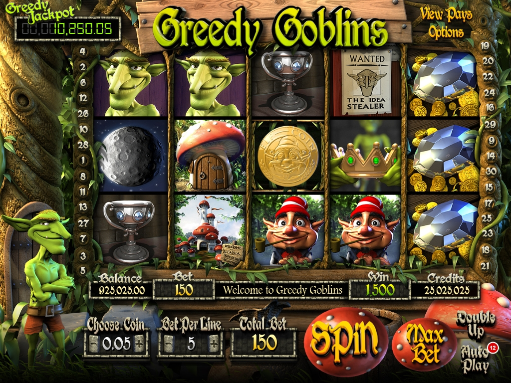 Greedy Goblins mcp game maingame
