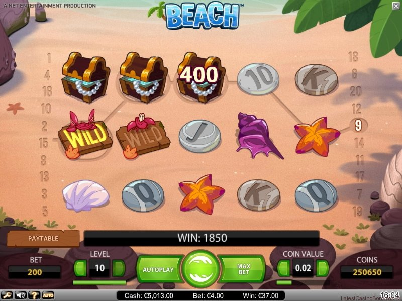 Screenshot Beach largewin