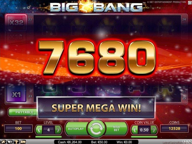Screenshot Bigbang super mega win
