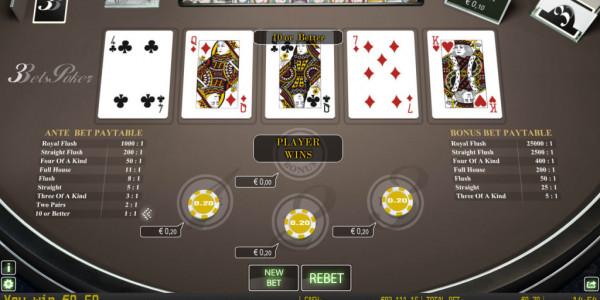 3bets poker mcp win