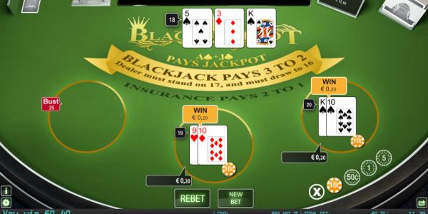 Black jackpot mcp wm win