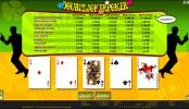 Double joker poker mcp wm win