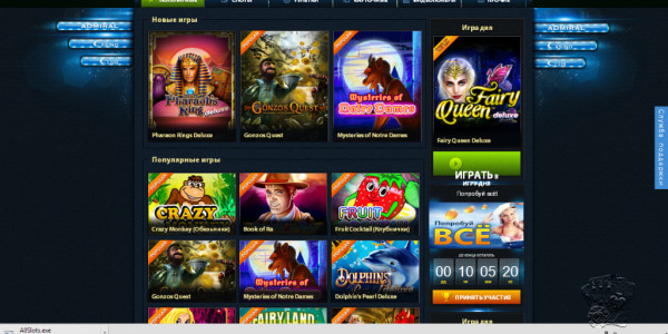 Admiral Casino Club Popular Games